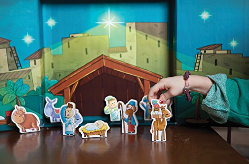 The Donkey in the Living Room Nativity Set: A Tradition that Celebrates the True Meaning of Christmas by B & H Publishing Group (Image #1)
