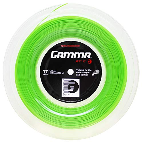 Gamma Sports AMP JET 17g String Reel - Lime ()