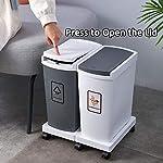 Mimosapud-45L-Contenedor-de-Basura-de-El-Plastico-3-Cubo-de-Reciclaje-de-15L-Papelera-de-Reciclaje-Compartimentos-Tapa-con-Bisagras