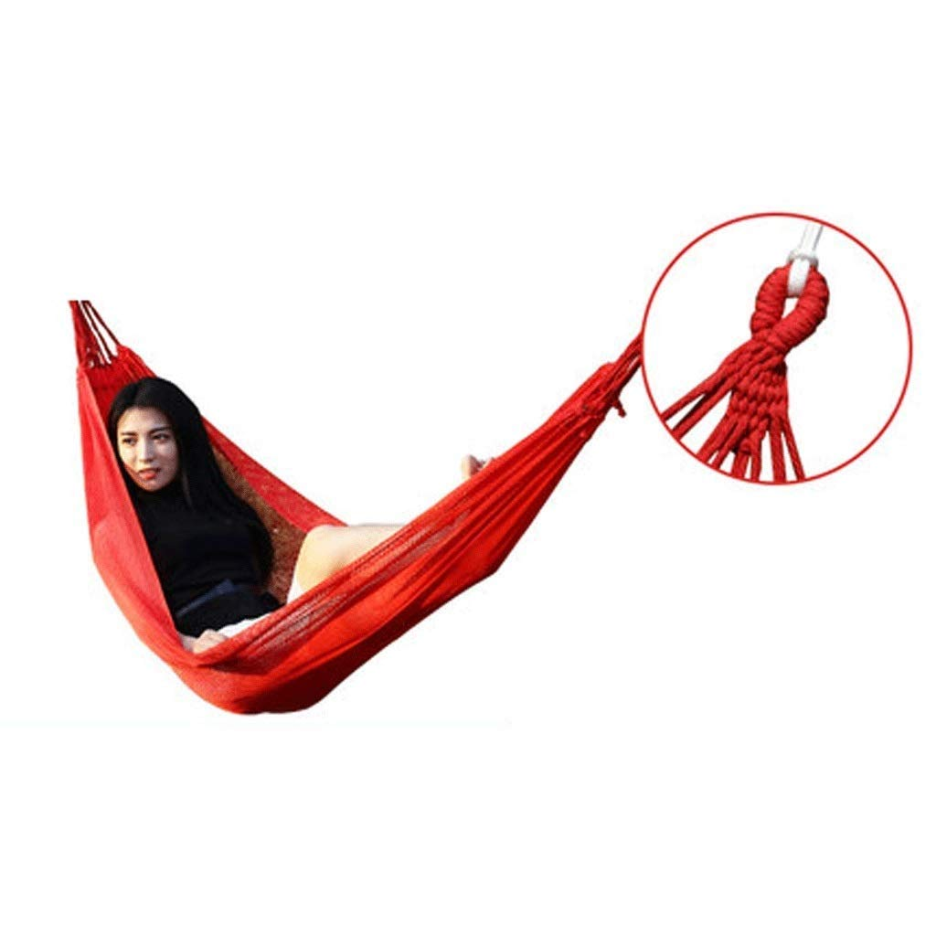 Zhong$chuang Anti-Rollover Compact Camping Portable Hammock with Folding Park Swing Outdoor Hammock (Color : A) by Zhong$chuang