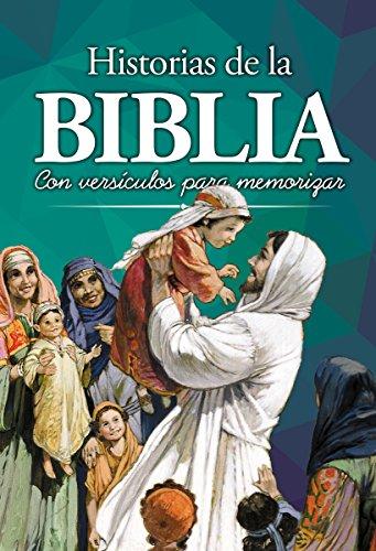 Biblia de Historias Para Niños: Con Versículos Para Memorizar