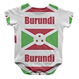 Burundi Country Flag Infant One Piece Snapsuit Bodysuit 6 Months