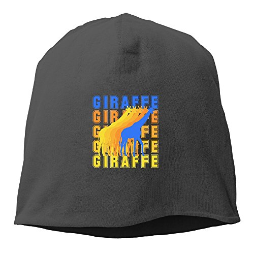 Giraffe Funny Vintage Beanie Hats Knit Skull Caps Winter Beanies For Men Women - Sunglasses Dj 58