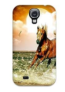 Bruce Lewis Smith Galaxy S4 Hybrid Tpu Case Cover Silicon Bumper Horse