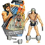 Hasbro Year 2009 X-Men Origins Wolverine Series 4 Inch Tall Action Figure - Comic Series WEAPON X with Shackles