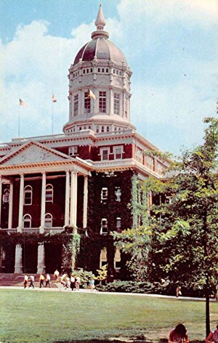 Columbia Missouri University Jesse Hall Vintage Postcard K62621