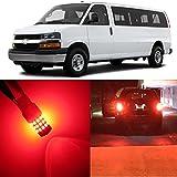 Alla Lighting 2pcs Super Bright 3157 3157KX 3157K Pure Re...