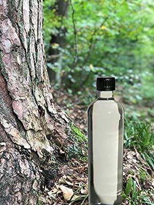 Botella de cristal con funda de neopreno de Dora´s, 500 ml, Negro: Amazon.es: Deportes y aire libre