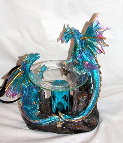 (Dragon Polyresin Oil Warmer with Dimmer)