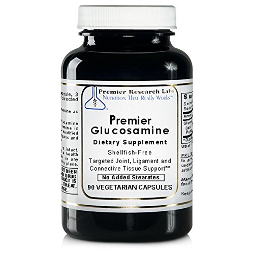 Premier Research Labs Glucosamine, 360 VCaps, Vegan - Shellfish-free, Targeted Joint, Ligament and Connective Tissue Support by Quantum / Premier Research