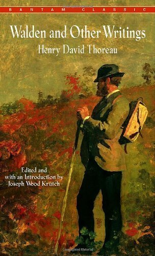 Walden and Other Writings by Henry David Thoreau by Thoreau, Henry David, Krutch, Joseph Wood Reissue edition - Shop Custom Reissue