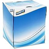 Genuine Joe GJO26085 Cube Box Facial Tissue, 2-Ply, 85 per Box, White