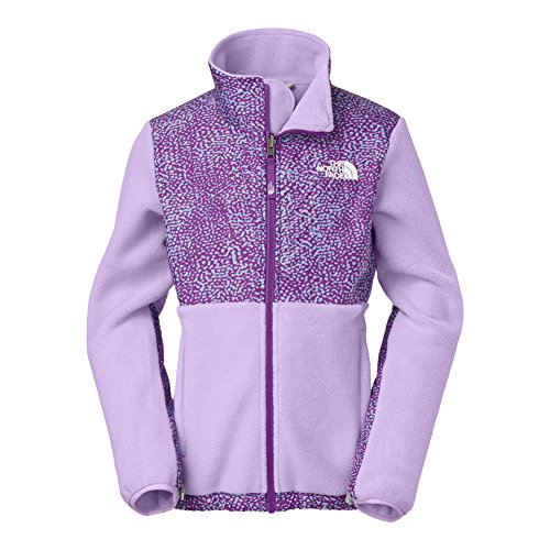 North Face Girl's Denali Jacket Recycled Violet Tulip Pur...