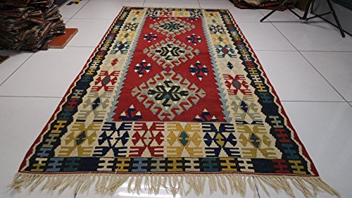 Vintage Rug Turkish Handwoven Rug Handwoven Rug Original Handwoven Rug Traditionally Handwoven Rug