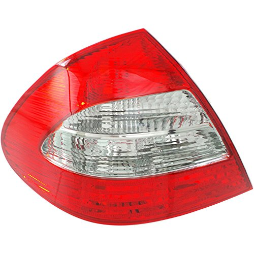 (Tail Light for Mercedes Benz E-Class 07-09 Lens and Housing Sedan (211) Chassis Left Side)