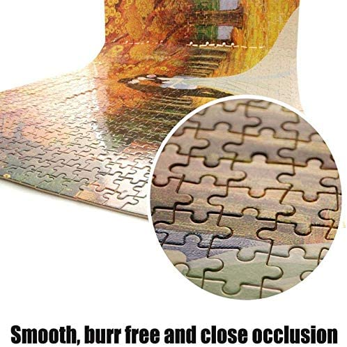 ZZX Puzzles for Adults Boy and GirlImpossible Crossword Toys Game Jigsaw Puzzles for Grown Ups Wooden 1000 Pieces Adults Puzzle Nighthawk