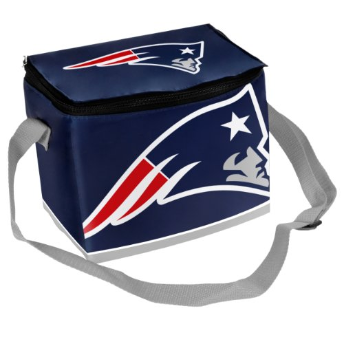 NFL New England Patriots Big Logo Team Lunch (New England Patriots Lunch Box)