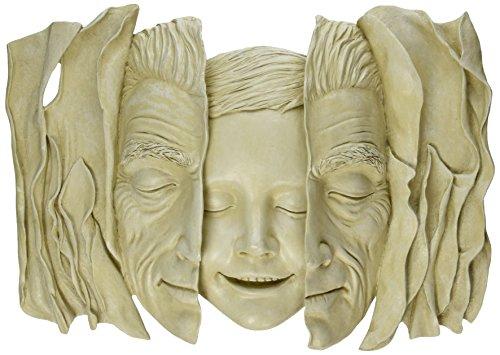 Child Sculpture (Design Toscano Child at Heart Wall Sculpture)