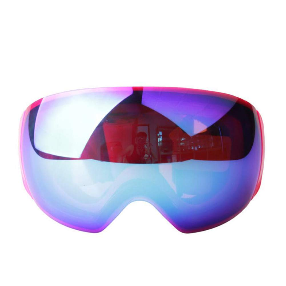 He-yanjing Skating Goggles ,Snowboarding Goggle ,Anti-Fog Jet Snow Skiing Skis Goggles ,Over Glasses Ski/Snowboard Goggles for Men, Women & Youth (Color : Purple) by He-yanjing