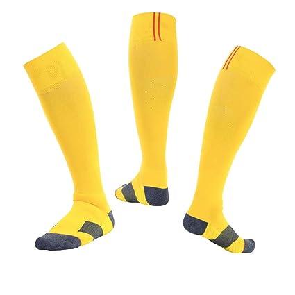WADUANRUN Medias para Hombre/Calcetines de fútbol para ...