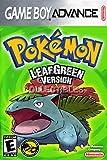 CGC Huge Poster - Pokemon Leaf Green - Nintendo Game Boy Advance GBA - GBA068 (24