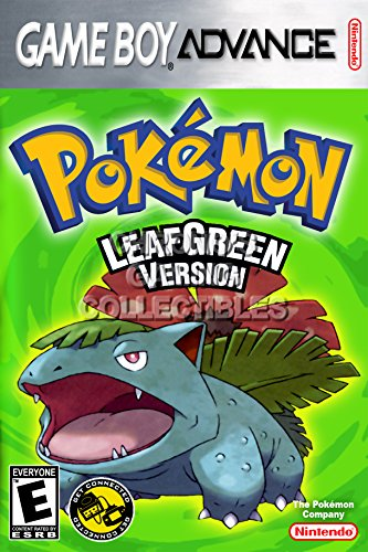 CGC Huge Poster - Pokemon Leaf Green - Nintendo Game Boy Adv