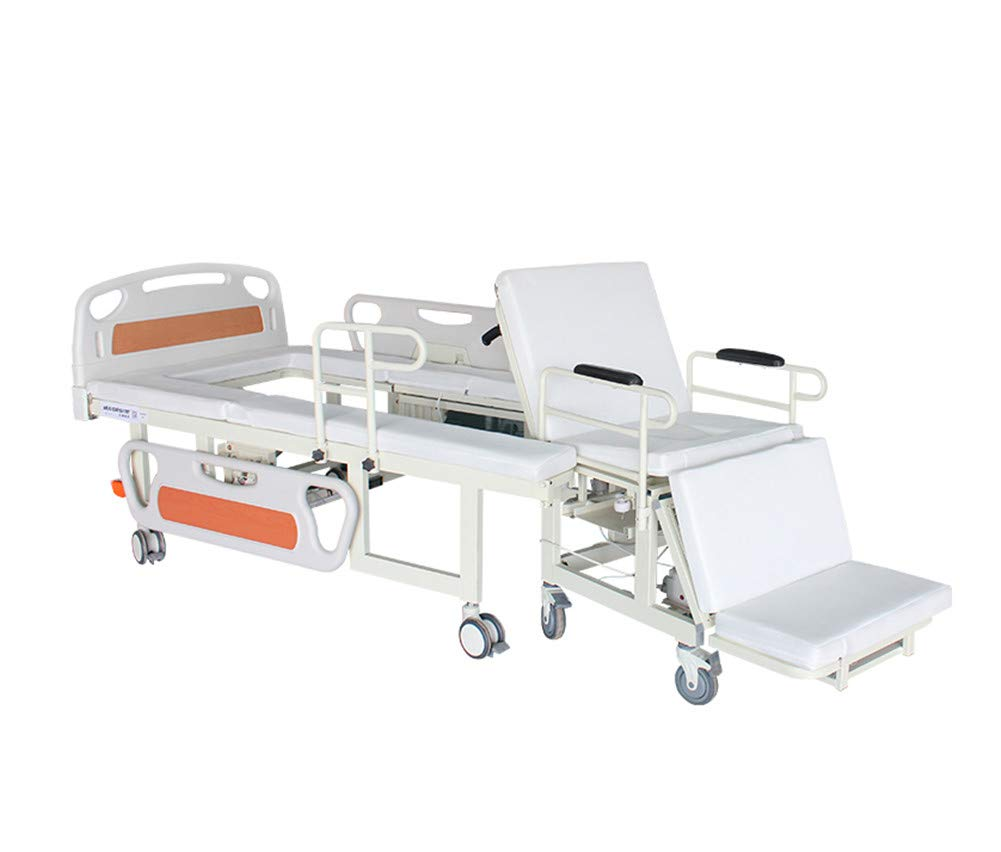 Multi-Function Electric Smart Home Care Bed, Manual Adjustable Medical Patient Using Hospital Bed