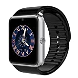 CNPGD [U.S. Extended Warranty] All-in-1 Smartwatch and Watch Cell Phone Silver