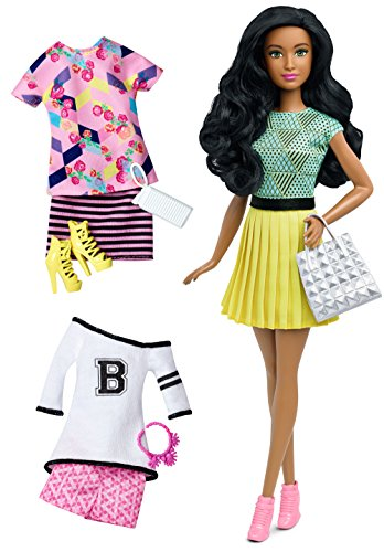 Barbie Fashionistas Doll & Fashions Fabulous (Black And Spanish)