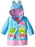 Wippette Baby Frog with Polka Dot Rainwear, Blue Fish, 12 Months