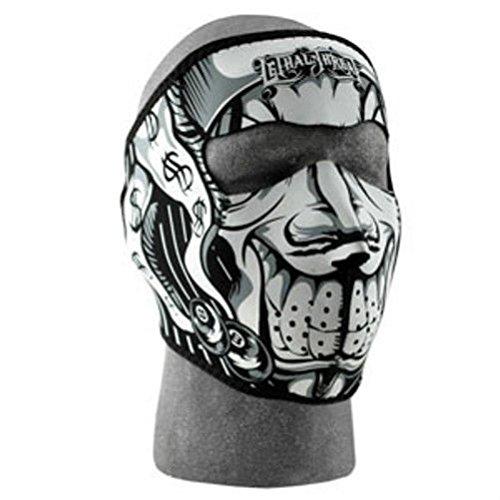 Lehtal Threat Jester Neoprene Full Face Mask Biker Snowmobile Motorcycle ATV SKI