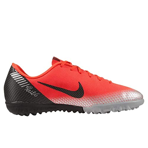 Nike Vaporx 12 Academy GS Cr7 TF, Zapatillas de Fútbol Unisex Niños, Rojo (