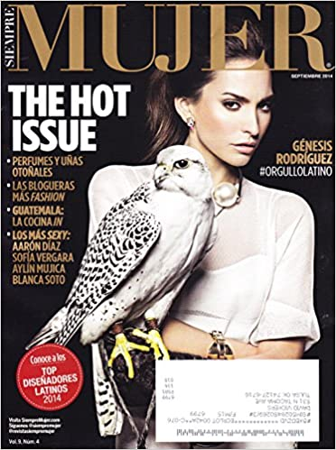 * THE HOT ISSUE * Genesis Rodriguez * Aaron Diaz * Septiembre/September, 2014 Siempre Mujer Periodico/Magazine: Maria Cristina: Amazon.com: Books
