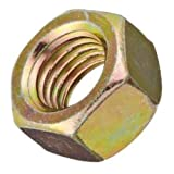 Small Parts FSC50HN8Y High-Strength Steel Hex Nut, Grade 8, 1/2''-13'' Thread Size (Pack of 50)