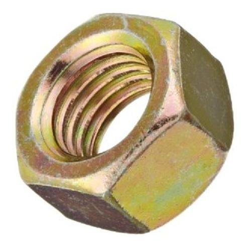 Steel Hex Nut 11//16 Width Across Flats Zinc Yellow-Chromate Plated 7//16-14 Thread Size Small Parts FSC716HN9 Pack of 25 Pack of 25 29//64 Thick Grade 9 7//16-14 Thread Size 11//16 Width Across Flats 29//64 Thick
