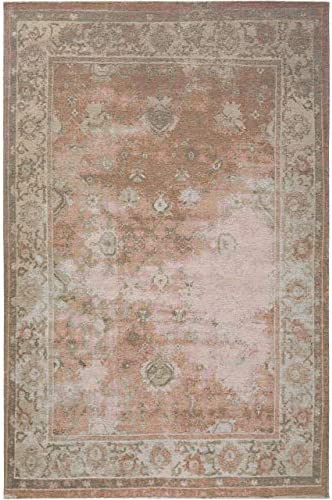 benuta Frencie - Alfombra de Tejido Plano, algodón, Braun/Grün, 120 x 180 cm: Amazon.es: Hogar