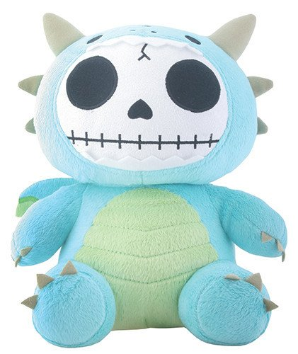 SUMMIT COLLECTION Furrybones Teal Dragon Scorchie with Wings Plush -