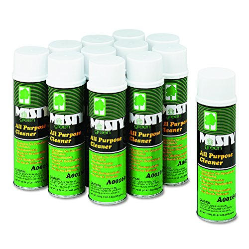 Misty A00169 19oz. Citrus All Purpose Cleaner in Aerosol Can (Case of 12)