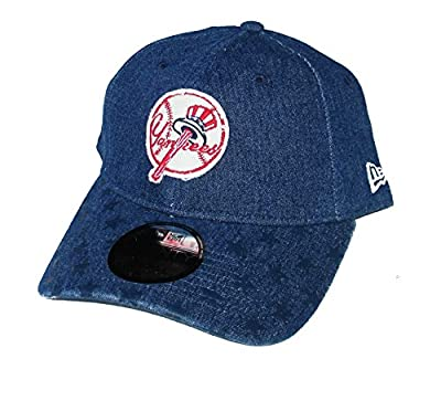 New Era Cap Company, Inc. New York Yankees Adjustable One Size Fits Most Hat Cap - Denim Blue by New Era Cap Company, Inc.