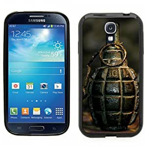 Pink Ladoo? Samsung Galaxy S4 Black Case - Grenade Military pin old authentic