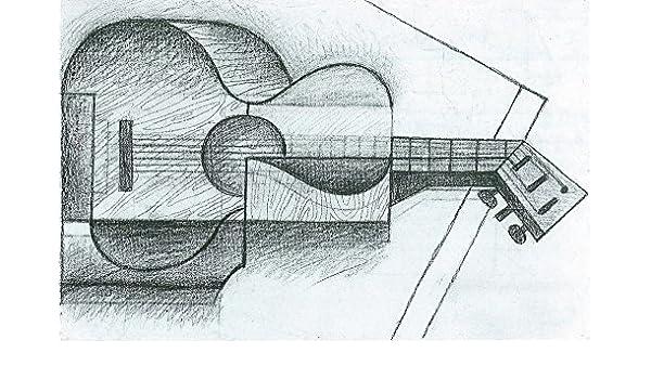 El Museo de salida – la guitarra por Juan Gris – Póster en línea ...