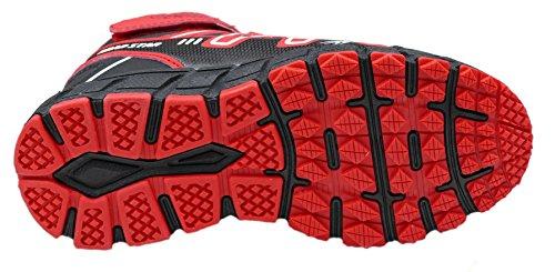 gibra - Zapatillas de Material Sintético para mujer blanco / rojo
