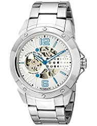 Stuhrling Original Men's 628.01 Legacy Analog Display Automatic Self Wind Silver Watch