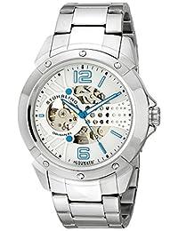 Stuhrling Original Men's 628.01 Legacy Analog Display Automatic Self Wind Silver Watch