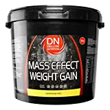 Deluxe Mass Effect Weight Gainer 4kg Chocolate Whey Protein Casein Glutamine by Deluxe Nutrition