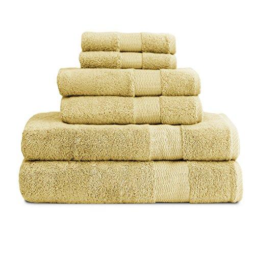 luxor-linens-6-piece-bathroom-towel-set-bamboo-collection-super-soft-fade-resistant-egyptian-cotton-