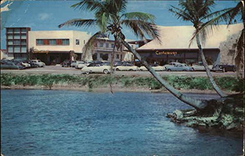 (The Castaways Miami Beach, Florida Original Vintage Postcard)