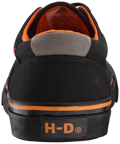 Harley-Davidson Herren Lawthorn Low Prolile Skate Schuh Schwarz Schwarz