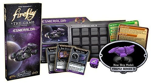 Firefly The Gale Force Force Force Nine Esmeralda Ship Expansion Board Game by Firefly 9ba123