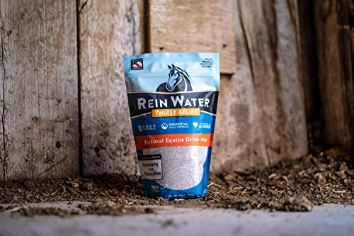 Image of REDMOND Rein Water Thirst Quencher for Dehydrated Horses, Electrolyte Mineral Drink Mix, 5 lb Bag